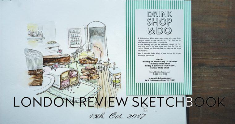 London Review Sketch Book~スケッチブックと巡るロンドンのティールーム