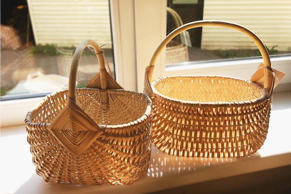 【旅と手しごと】ラトビア・手編みのカゴとリガの中央市場