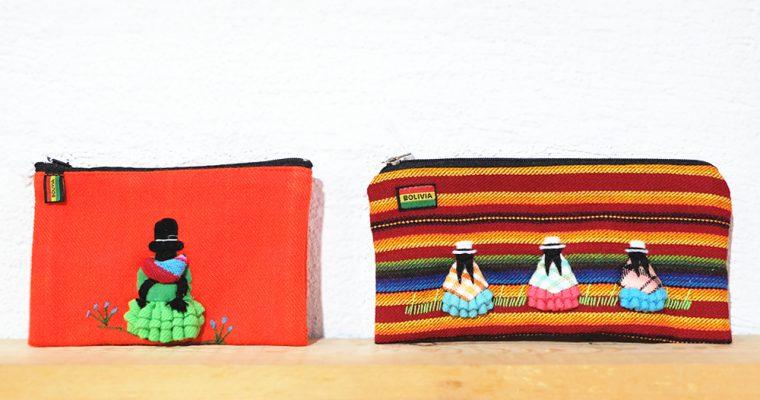 【旅と手しごと】ボリビア・世界一の高所にある首都ラパスへ:チョリータさんのポーチとアンデスの布使い
