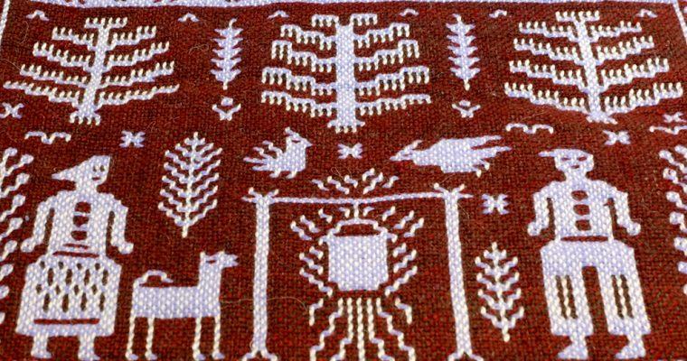 【旅と手しごと】ポーランド:ヤノフ村の絵織物とポリチュナへの遠足
