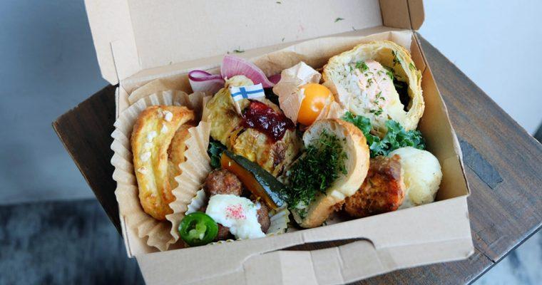 【旅の食卓】フィンランド:フィンランドボックスとシナモンロール、ベリーとハーブのミニパフェ