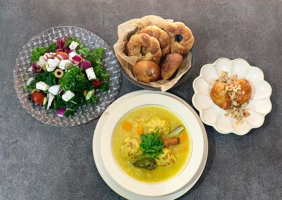 旅茶カフェ:メニューのご紹介 ギリシャのレモンスープ「ユバラキャ」